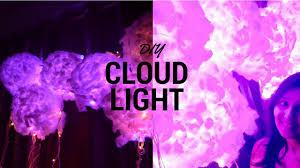 How To Make Cloud Lights Diy Home Decor Diy Cloud Lamp How To Make Cloud Lights