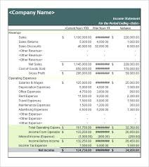 Personal Financial Statement Template What Is A Income Monthly Excel ...