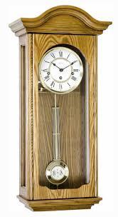 hermle brooke 70815 i90341 oak keywound wall clock
