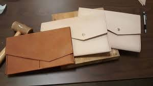 picture of make a leather clutch or purse