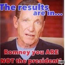 Romney is..... Meme via Relatably.com