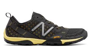 new balance hommes. new balance minimus 10v1 trail, dark grey with yellow hommes