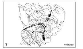 2011 toyota yaris serpentine belt vehiclepad 2010 toyota yaris toyota tundra serpentine diagram toyota image about wiring