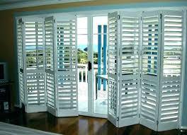 sliding door shutters doors s glass plantation for