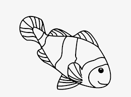 Coloring Pages Luxury Fish Drawings For Kids Simple - Clown Fish To ...