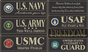 Wood Signs With Sayings Quotes Military Wood Signs Page 1