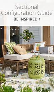cushion guide outdoor sectional4 outdoor