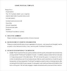 Project Proposal Cover Letters Grant Request Cover Letter Sample Example Of Grant Letters Grant