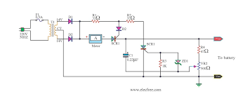battery charger circuit 12v battery charger circuit without transformer at Battery Charger Block Diagram