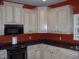 Kitchen Cabinet Paints And Glazes Painting Kitchen Cabinets White With Glaze