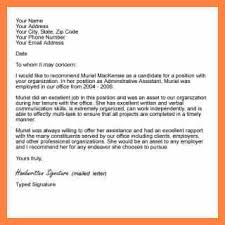 5 Sample Letter Of Recommendation For Ms Corpus Beat