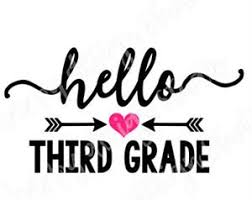 Image result for welcome to third grade images