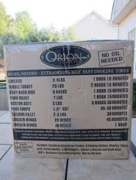 Orion Cooking Chart 7 Best Orion Cooker Images Cooker Smoked Brisket Orion