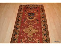10 hall runner handmade persian rust rug