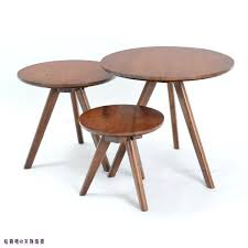 small wood coffee table trio round coffee table modern small apartment simple and stylish oak wood coffee table small coffee table a few side tables in