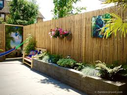 Small Picture 26 Bamboo Fencing Ideas for Garden Patio or Balcony