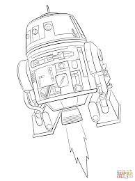 Small Picture Star Wars Rebels Chopper coloring page Free Printable Coloring Pages
