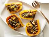 baked stuffed winter squash