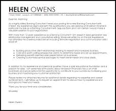 banking consultant cover letter sample cover letter sales consultant