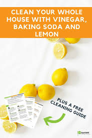17 best images about eco friendly home garden clean your whole house vinegar baking soda and lemon