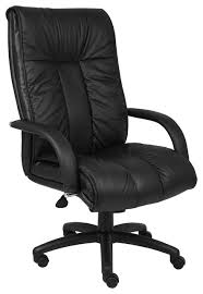 I Boss Italian Leather High Back Executive Chair