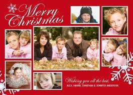 christmas card collage templates christmas photo collage cards holiday photo collage cards red green