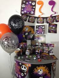 The Nightmare Before Christmas happy birthday party pack supplies Free  shipping #BirthdayAdultandchild