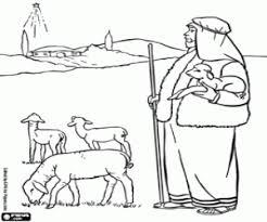 Kleurplaat Ster Van Bethlehem En De Herder Kleurplaten
