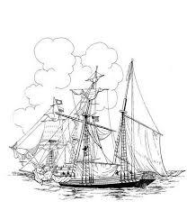 Kleurplaat Voc Malvorlage Segelboot Ausmalbild 13308 Kleurplatenlcom