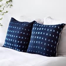 indigo throw pillows. Brilliant Indigo Dara Indigo Pillow Throughout Throw Pillows A