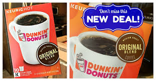 Dunkin donuts original blend whole bean medium roast coffee 340g £15.69 (£4.61 / 100 g) only 4 left in stock. Dunkin Donuts Coupons April 2021 New 1 1 Coupon