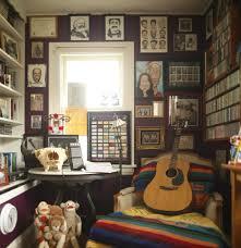 Rock N Roll Bedroom My Favorite Room A Shrine To Music And Memorabilia In Minneapolis