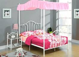twin canopy bed set – sundr