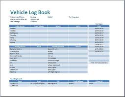 Vehicle Log Book Format 2 Plus Vehicle Log Book Format Excel Access Tracker Com