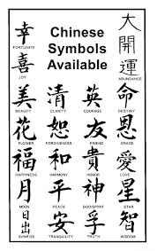 поздравления на китайский новый год иероглифы приносящие удачу