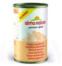 <b>Консервы</b> (банка) <b>Almo Nature Classic</b> Adult Cat Tuna&Shrimps