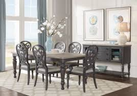 cindy crawford home coastal breeze charcoal 5 pc rectangle dining room