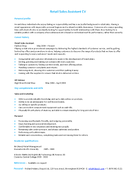 retail sales assistant cv   hashdocretail sales assistant cv