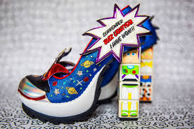 Toy Story Arch Enemies Light Up Heels Arch Enemies Irregular Choice Toy Story Collection
