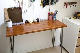 View in gallery DIY hairpin leg desk