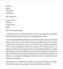 Flight Attendant Cover Letter Cycling Studio