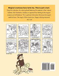 Amazon.com: Farting Magical Creatures Coloring Book (9781542366106 ...