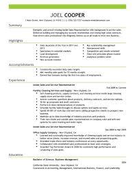 Inside Sales Resume Keywords