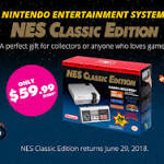 NES Classic Edition Returns on June 29: Is this Why There's no Nintendo Switch Virtual Console?