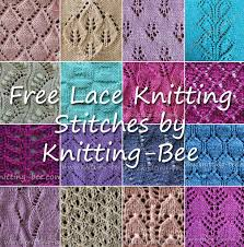 Free Knit Patterns Impressive 48 Free Knitting Lace Stitches With Written Patterns 48 Free