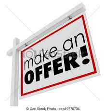 Make A For Sale Sign Make An Offer Words For Sale Real Estate Sign Buyer Price