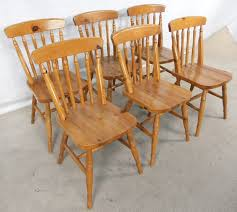 antique pine dining room chairs. set of six antique windsor style pine kitchen dining chairs - sold room a