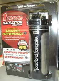 rockford fosgate farad digital capacitor new rfcd rockford fosgate 1 farad digital capacitor new rfc1d