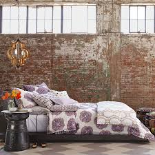 brick walls. View In Gallery Lovely Way To Style A Modern Bedroom With Exposed Brick Walls [From: Horchow]
