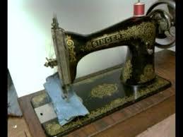 1921 Singer Sewing Machine